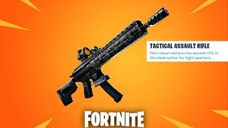 Fortnite New Tactical AR Update Countdown + Gameplay! (Fortnite New Update)