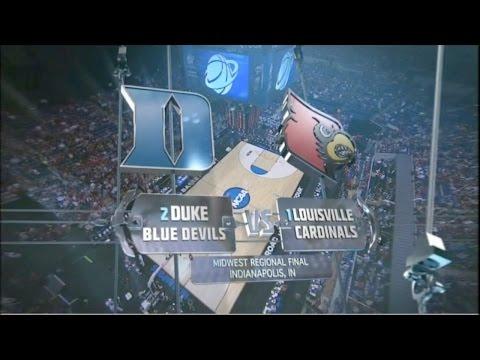 #1 Louisville vs #2 Duke ELITE 8 - 2013 (Full Game)