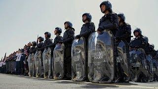 Войска армянской полиции массово бегут  из Карабаха.