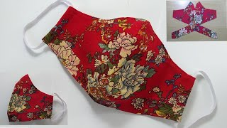Beautiful Hand Craft Fabric Face Mask Mask Sewing Tutorial How to Make a Face Mask Mascarilla