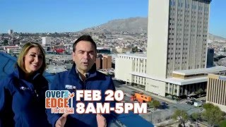 Kfox14  Goes 'over The Edge'