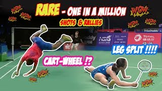 God Like Badminton Shots & Rallies | One in a million shots & rallies | Rallies Shots you can't miss