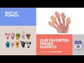 default - Set Of Ten Finger Hands Finger Puppets