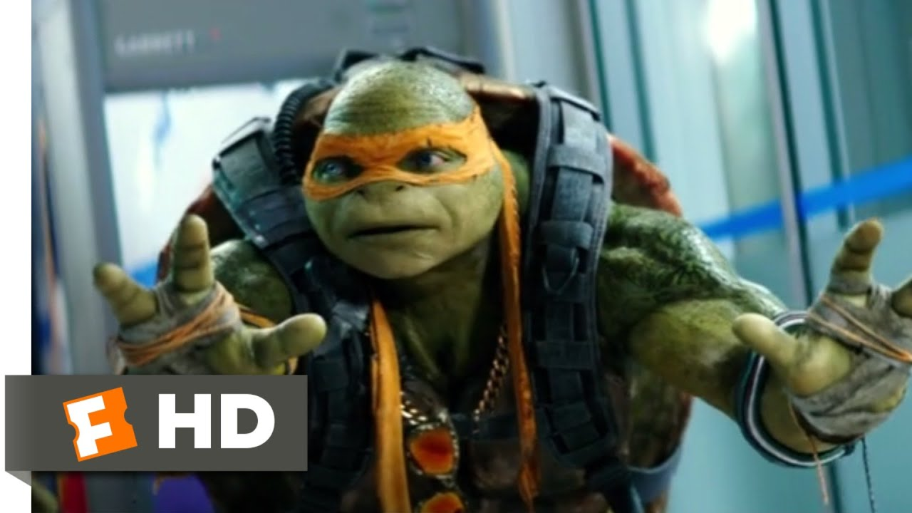 Teenage Mutant Ninja Turtles 2 2016 Nypd Escape Scene 6 10 Movieclips Youtube