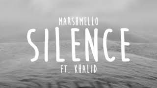 Marshmello ft Khalid - Silence (traduction)