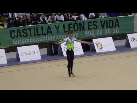 Rubén Alonso, Cto. de España Rítmica Masculina Valladolid 2016 - Mazas