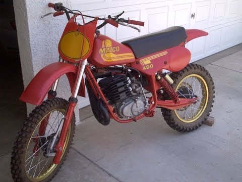 Dirtbike Story: The first time I rode a Maico 490