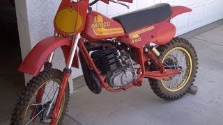 The first time I rode a Maico 490
