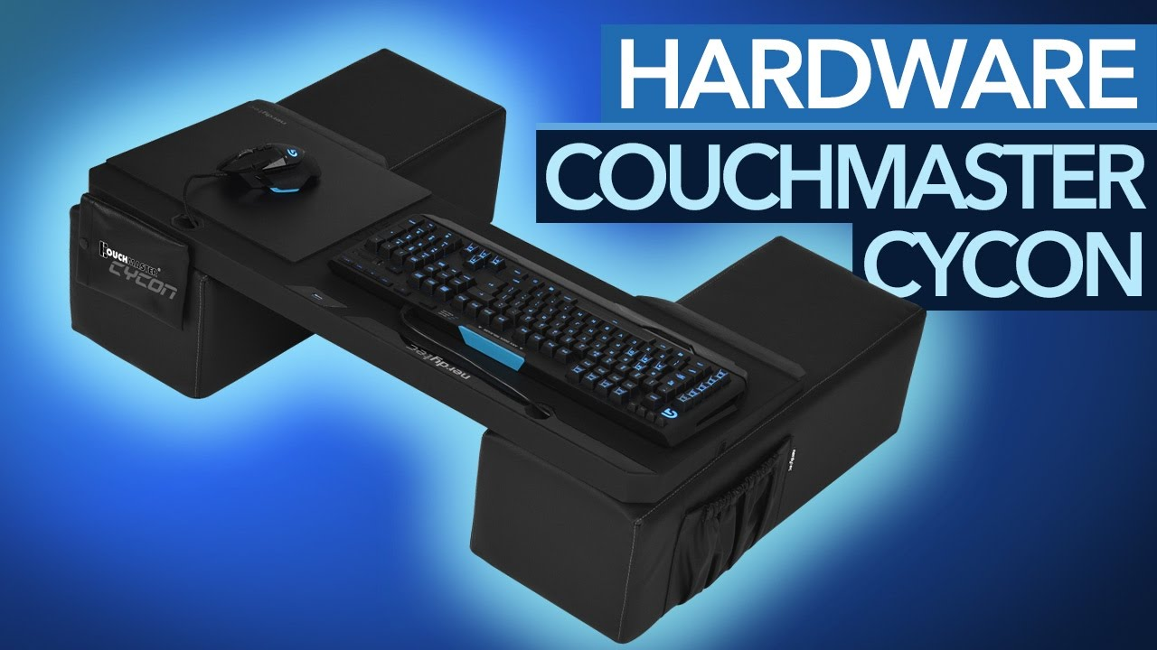 Perfektes Couch Gaming Nerdytec Couchmaster Cycon Im Test Youtube