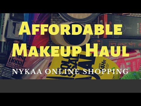 Affordable Makeup Haul || Nykaa & Amazon || Deepa