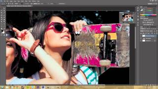 Photoshop CS6 Tutorial - 15 - How to use the Navigator Panel