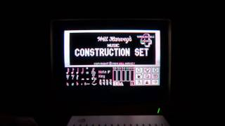 Music Construction Set disk drive music (Apple II - Electronics Arts)