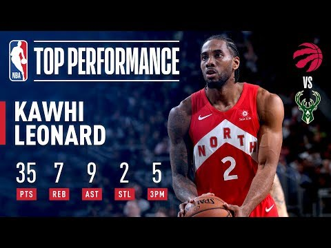 Kawhi Leonard STUFFS The Stat Sheet In Pivotal Game 5 | May 23, 2019