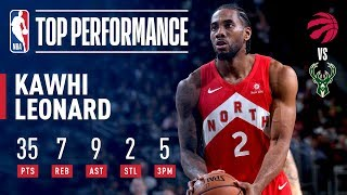 Kawhi Leonard STUFFS The Stat Sheet In Pivotal Game 5 | May 23, 2019