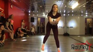 Afro at RaiSky Dance Studio (Moscow) open class by Irina Zbbrailova