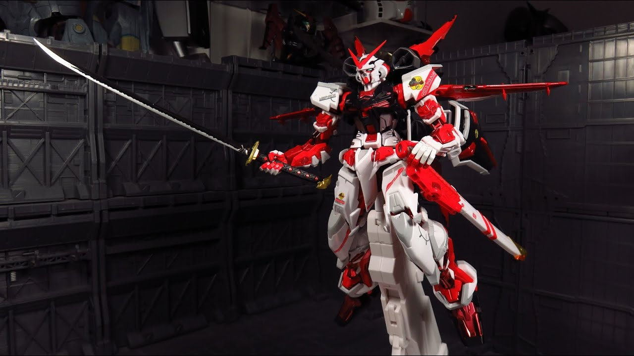 Metal Build Gundam Astray Red Frame Powered Red