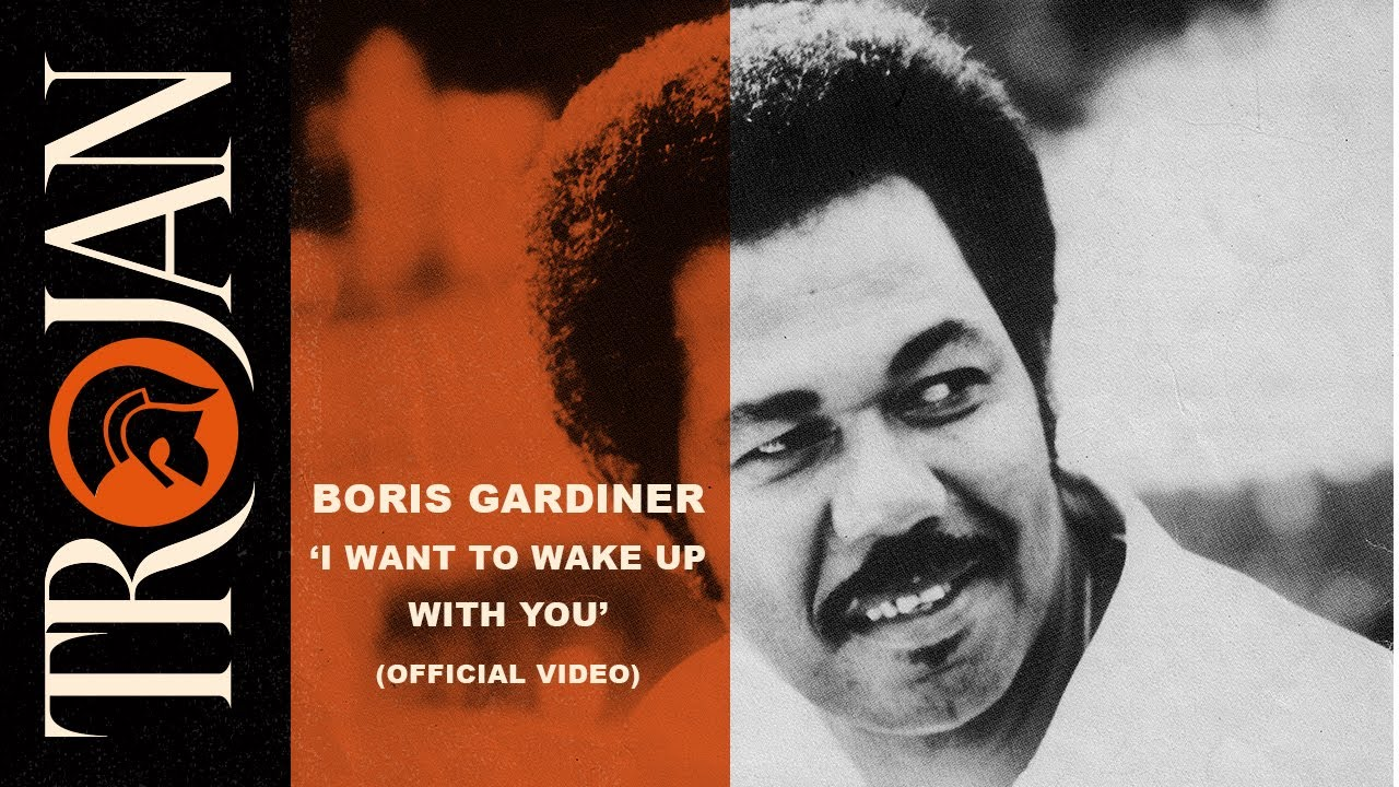 Boris Gardiner I Want To Wake Up With You Official Video Youtube