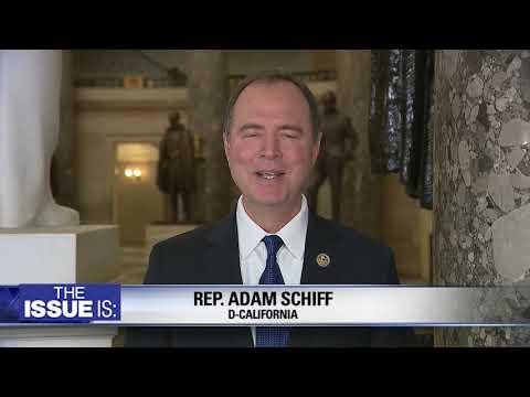 Rep. Adam Schiff on Presidential Emergency, Andrew McCabe, gun laws