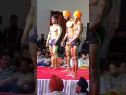 Mr.Ganganagar 2017 winner..💪💪...Ravindra Singh..