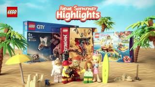 Entdecke jetzt die Soṁmer Highlights bei LEGO®!