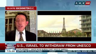 US withdrawal from UNESCO not surprising—analyst