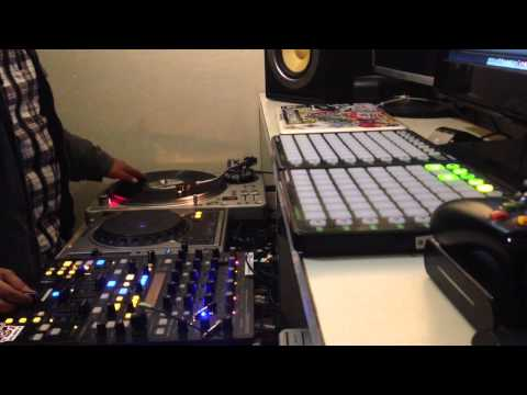 Freestyle Beat on Maschine MK1 & Scratching by Kill3r-K