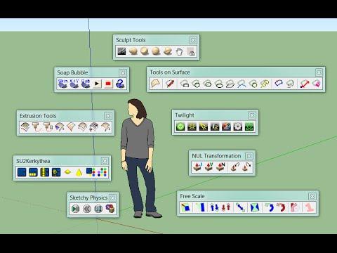 Buổi 9 khóa học SketchUp Online: Plugin thông dụng ( phần 1)