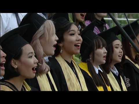 Nazarbayev University Graduation Ceremony 2017. Part I.