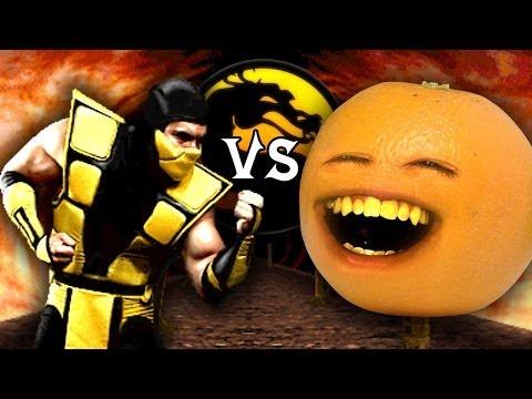 Naranja Molesta Vs Mortal Kombat