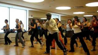 "Nathan Blake of blake TV  does ""Na Na Na"" by Akon for Zumba Class"