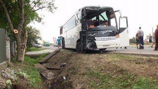 Поблизу Коломиї потрапив у ДТП білоруський автобус з туристами
