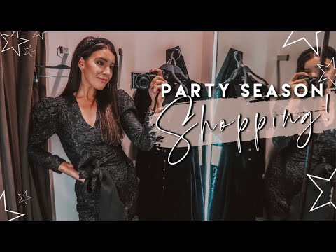 Zara, H&M + Topshop Party Season 2019 Shop With Me & Try On + Dublin at Christmas Time!