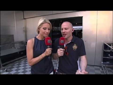 Hungary, Villeneuve about Kimi and Burn event - 27/07/2013