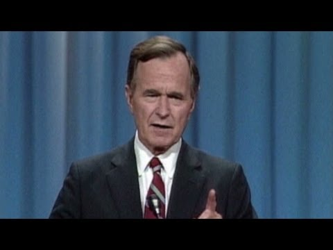 Highlights from Bushs 1988 RNC speech