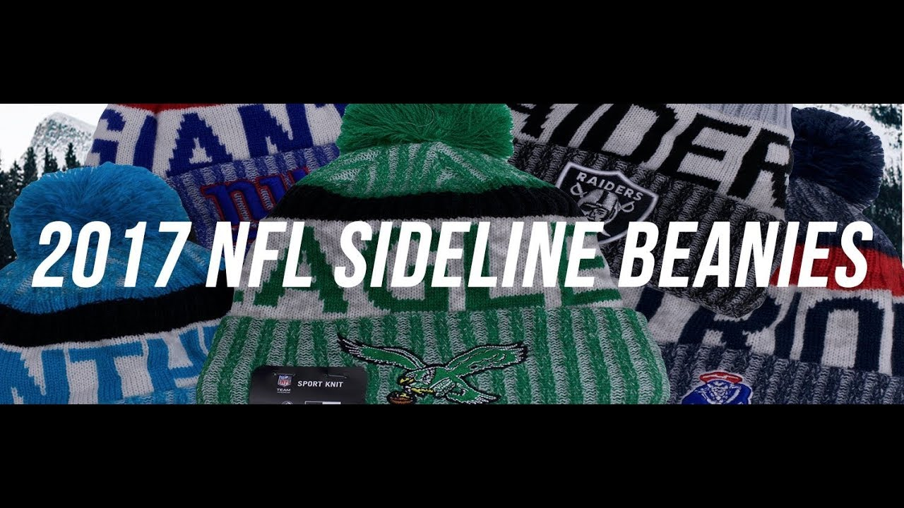 1cb265614bc640 Knit Foot Ball Beanies | 2018 Sideline Fleece lined beanies - YouTube