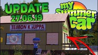 DEMOLUJEMY SKLEP TEIMO  My Summer Car UPDATE [28.06.2019] Omówienie Aktualizacji