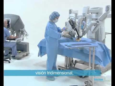cirugía robótica próstata arezzo en
