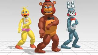 fnaf 2 what does the fox say mmd