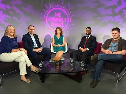 Simon Gray on The Channel 8 Debate, Notts TV - 12.6.15