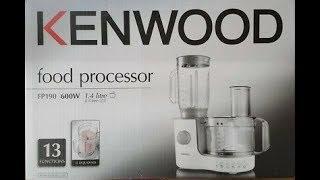 Kenwood (FP190) Food Processor | Introduction