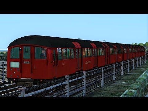 London Transport Heritage Route Fictional Underground Cab Ride Train Simulator 2017