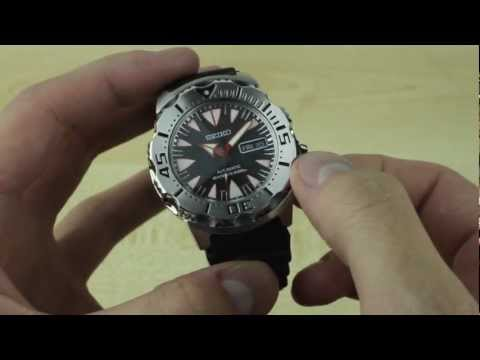 Seiko Monster SRP313K1 Dive Watch Review