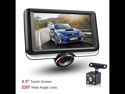 DR.Q AP-11 360° 1440P Panoramic Dash Cam With Rear Camera