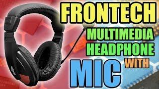 Frontech multimedia headphone Budget headphone under rs 500 headphone