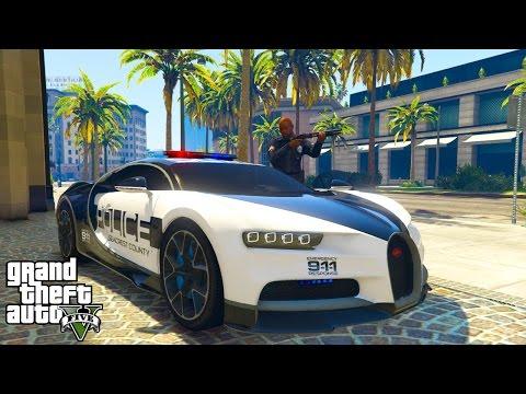 GTA 5: DER SCHNELLSTE POLIZIST IN LOS SANTOS!