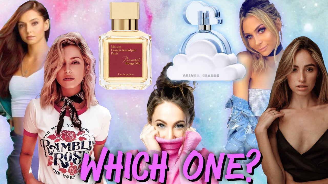 Which One Baccarat Rouge 20 or Ariana Grande Cloud   Ladies pick