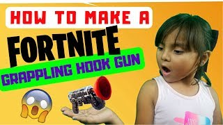 HOW TO MAKE A REAL FORTNITE GRAPPLING HOOK