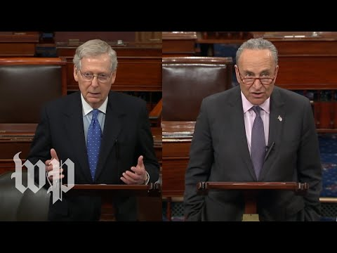 Watch: McConnell, Schumer speak about Mueller report on Senate floor