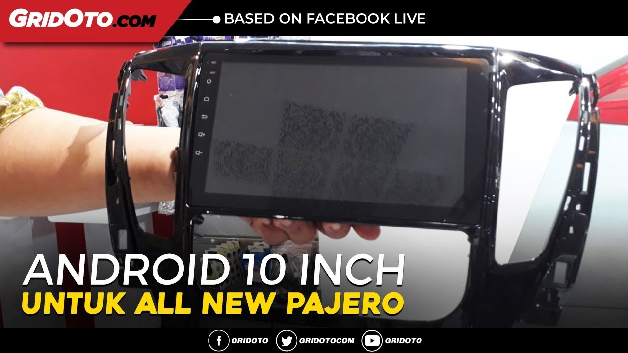 Bedah Fitur Head Unit Android 10 Inch Di All New Pajero Sport