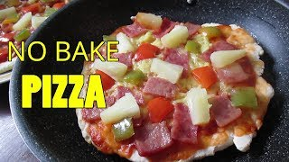 pizza without oven recipe video